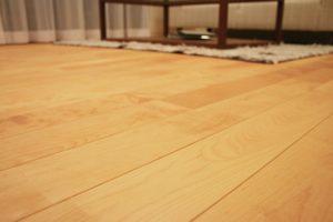 床のフローリング貼り替えリフォーム