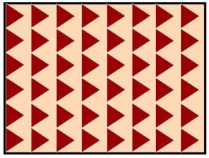 オリジナルの幾何学柄
