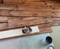 DIYで床をフローリング材に張替える方法は?