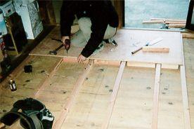 床張替えの工法