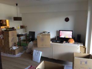 家具と荷物と廃棄物